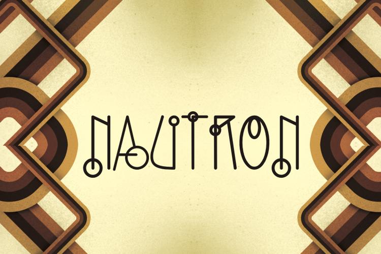 Nautron Font