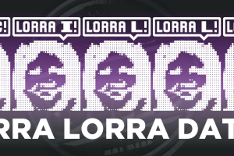 Lorra Lorra Dates! Font