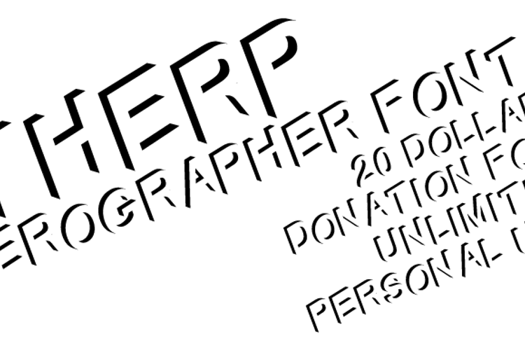 Therp Font