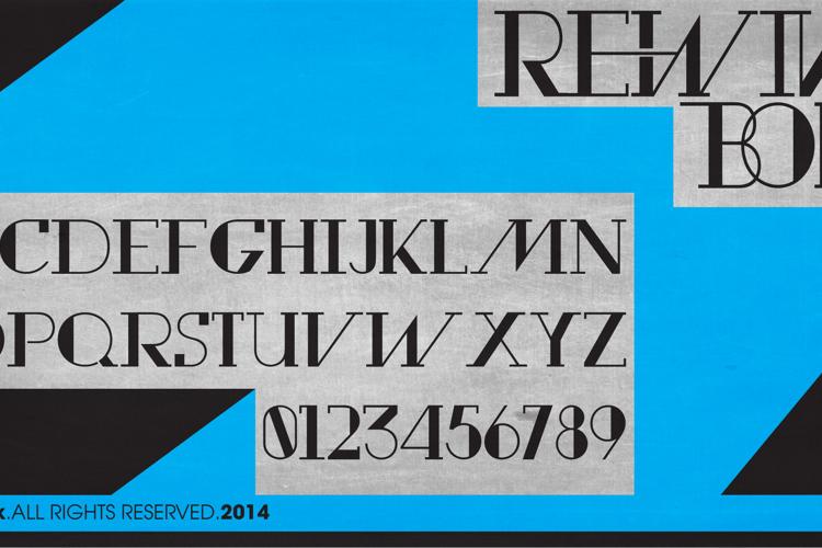 Rewind Font