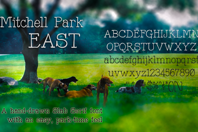 Mitchell Park East Font