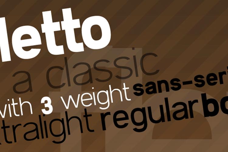 Filetto Font