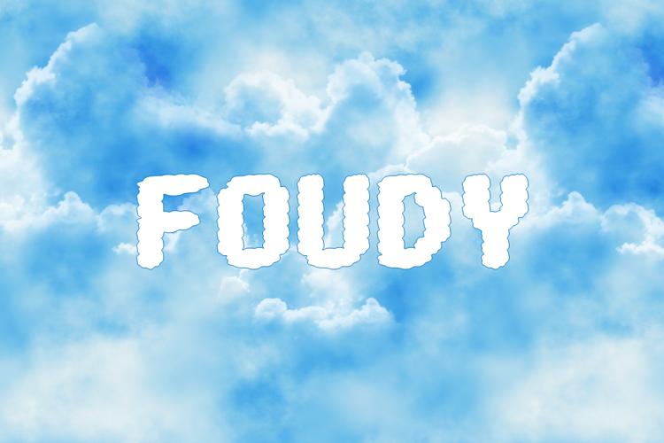 FOUDY Font