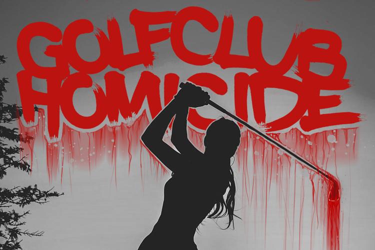 Golf Club Homicide Font