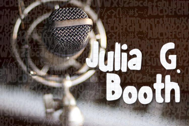 JuliaGBooth Font