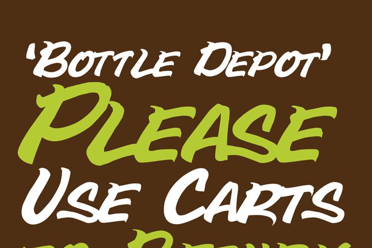 Bottle Depot Font