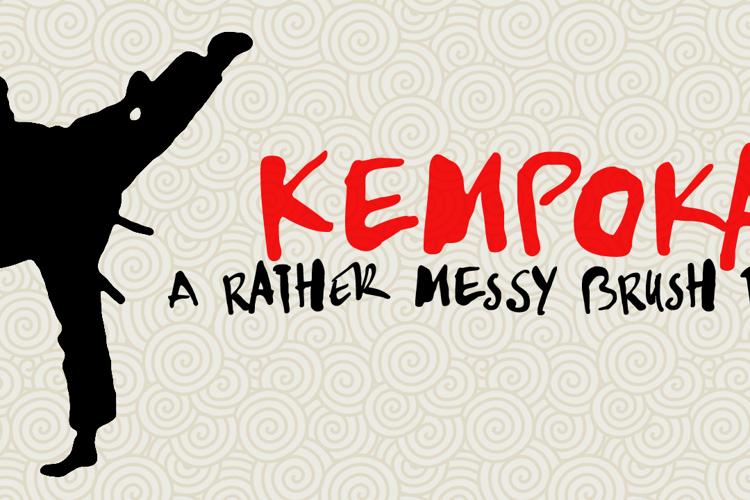 DK Kempoka Font