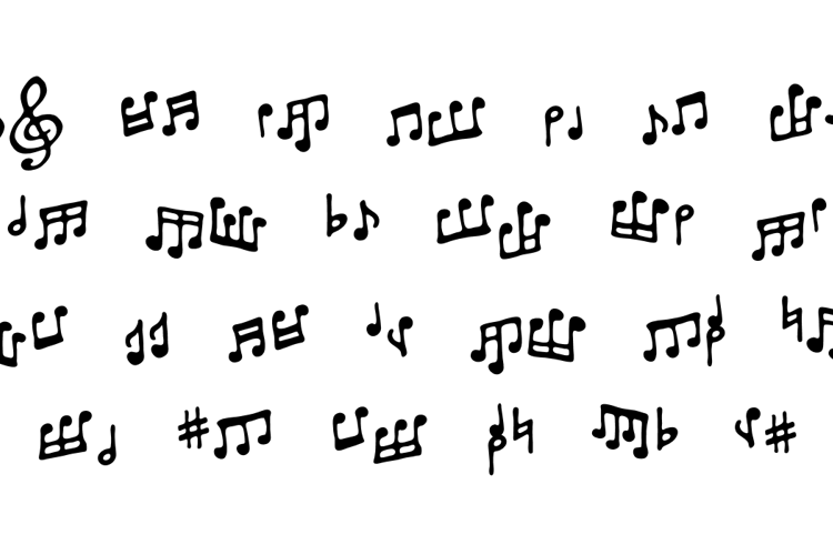 ToneDeaf BB Font