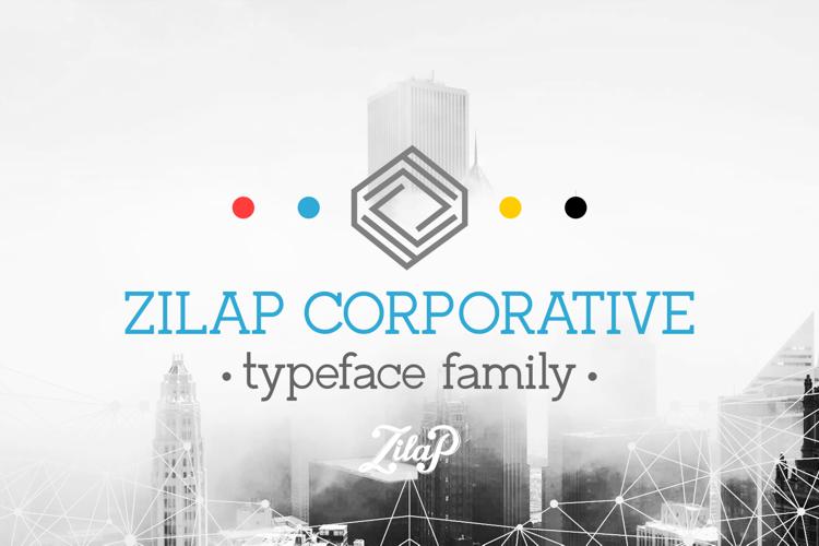 Zilap Corporative Font