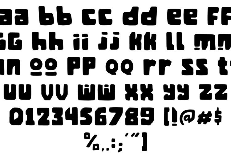 Mangan Ngombe Font
