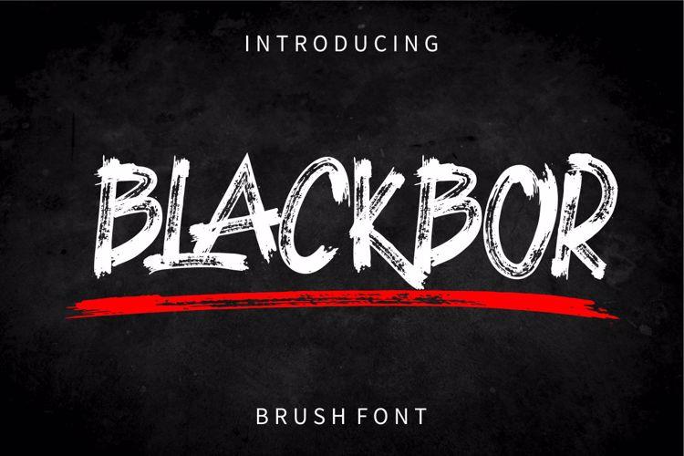 BLACKBOR Font