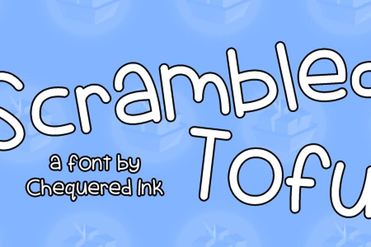 Scrambled Tofu Font