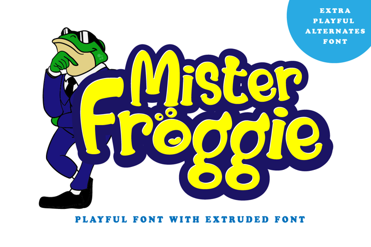 Mister Froggie Regular Font