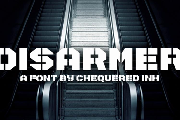 Disarmer Font
