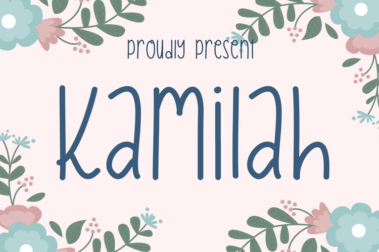 Kamilah Font
