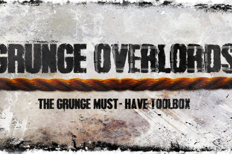 Grunge Overlords Font