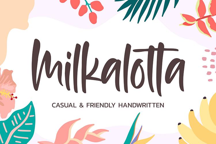 Milkalotta Font