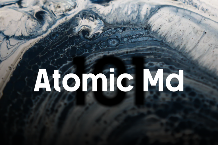 a Atomic Md Font