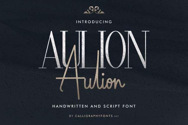 Aulion Font