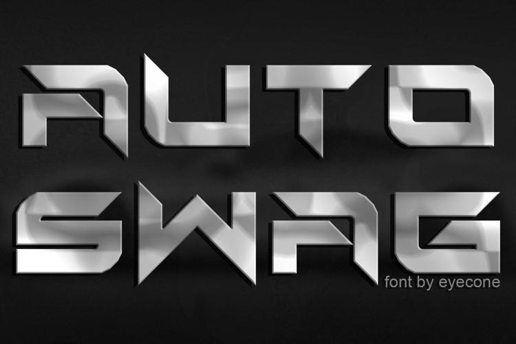 Auto Swag Font