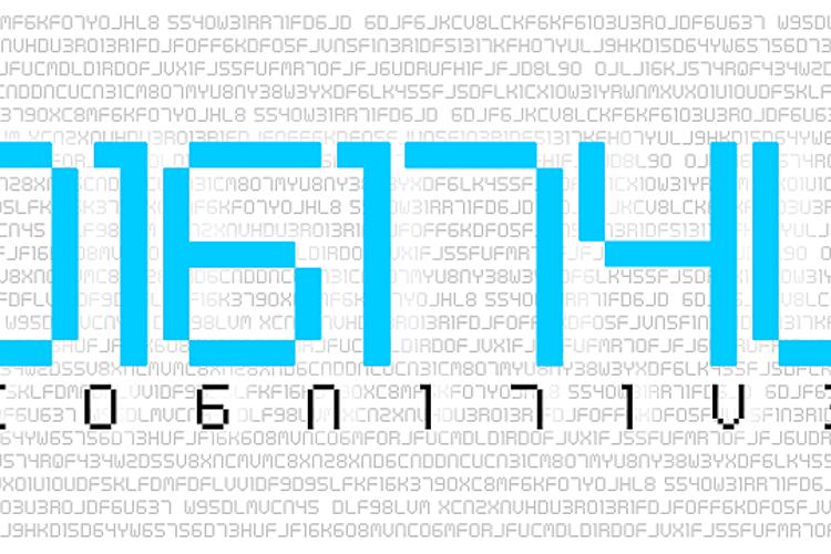Digital cognitive Font