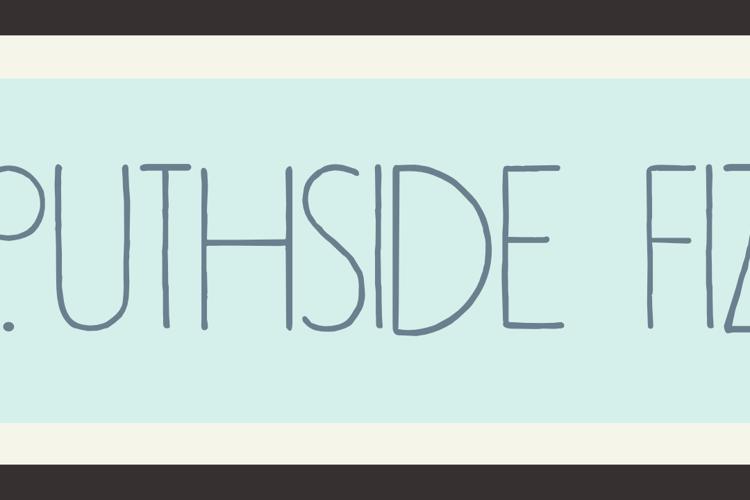 DK Southside Fizz Font