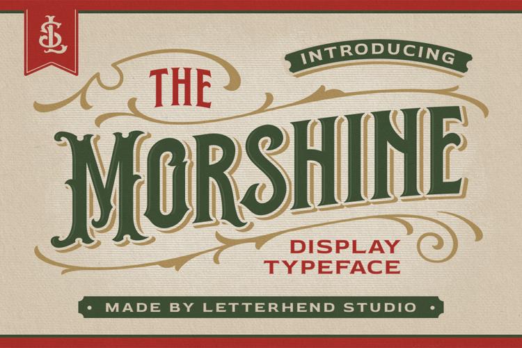 The Morshine Font
