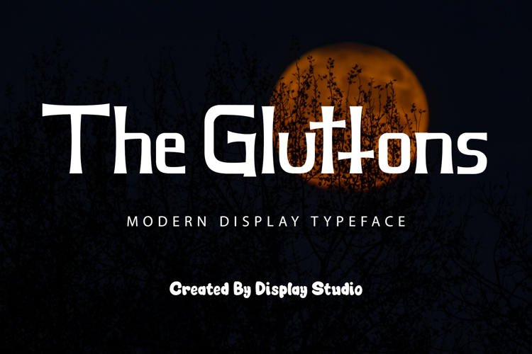 The Gluttons Font