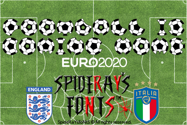 FOOTBALL IS COMING HOME Font