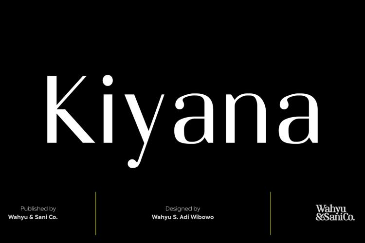 Kiyana Font