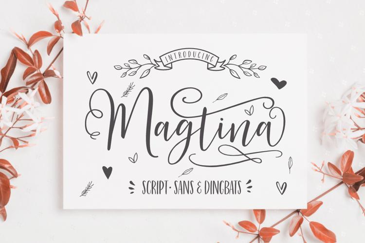 Magtina Script Font