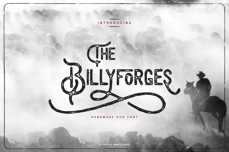 Billyforges Font