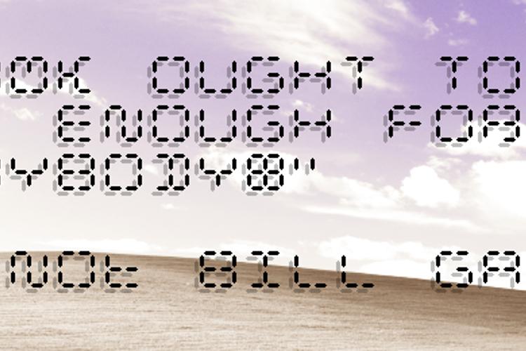 Calculatrix 12 Font