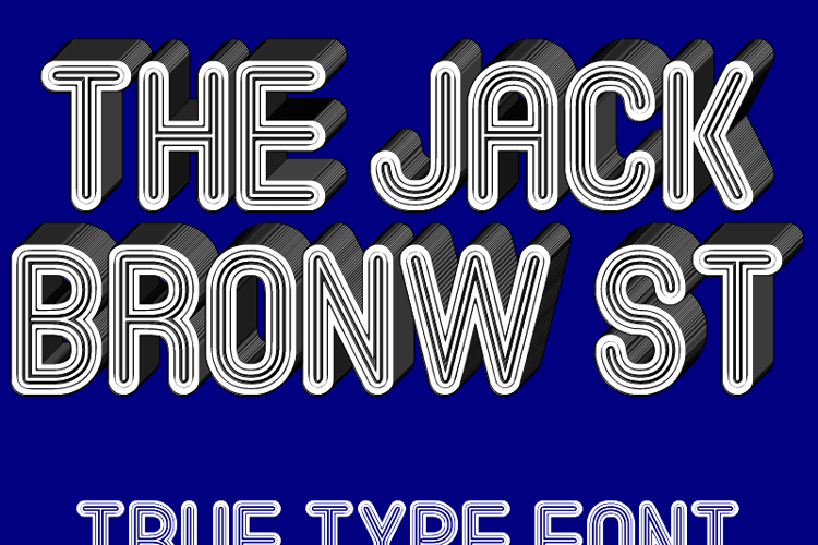 The Jack Bronw St Font
