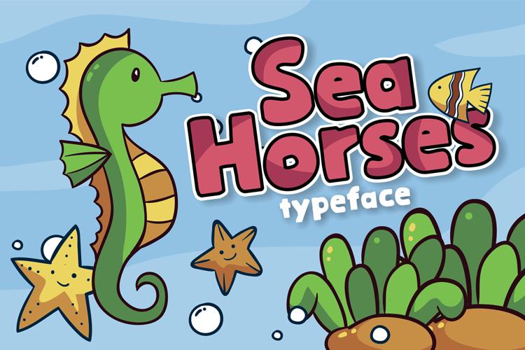 Sea Horses Font