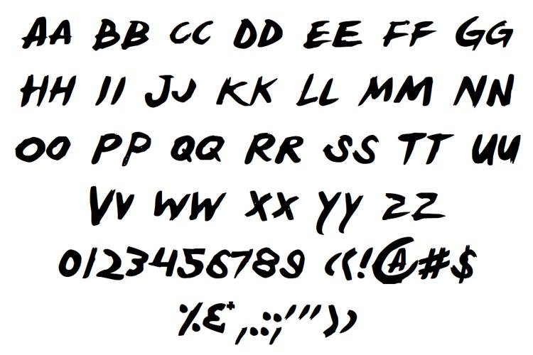 Yellowjacket Font