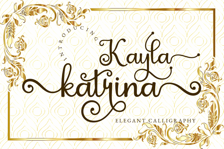 Kayla Katrina Font