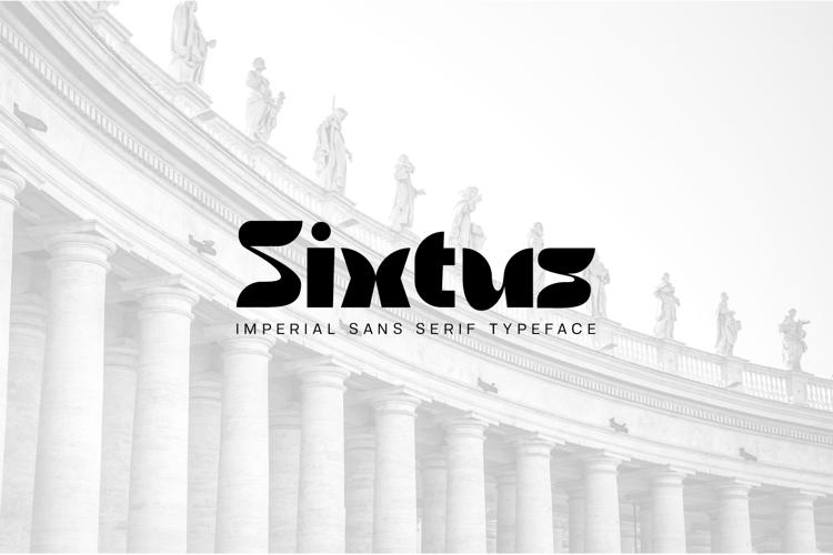 Sixtus Font