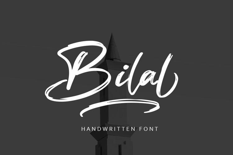 Bilal Font