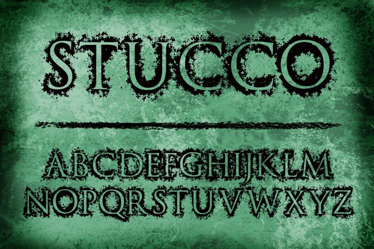 Stucco Font