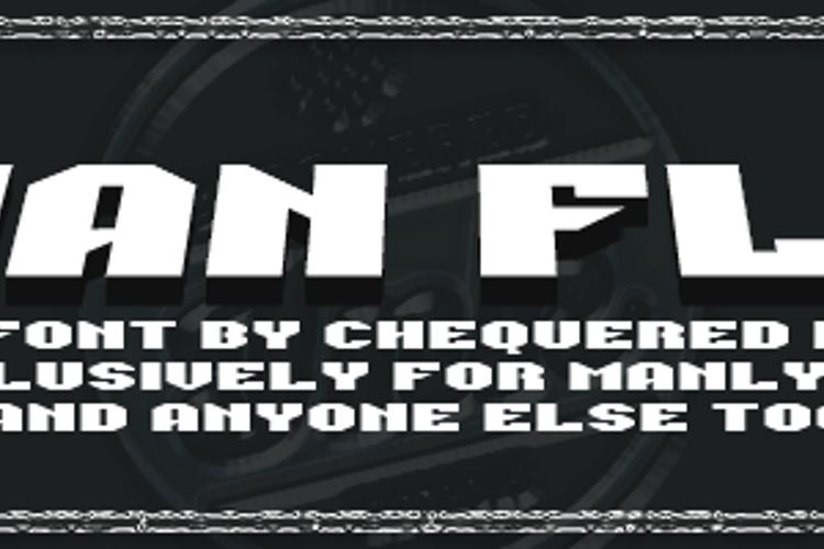 Man Flu Font