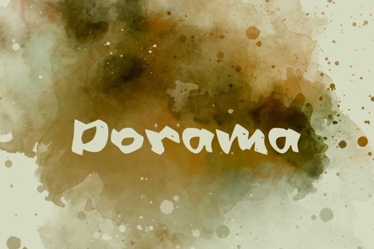 d Dorama Font