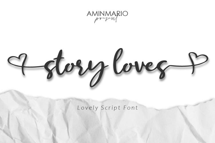 Story Loves Font