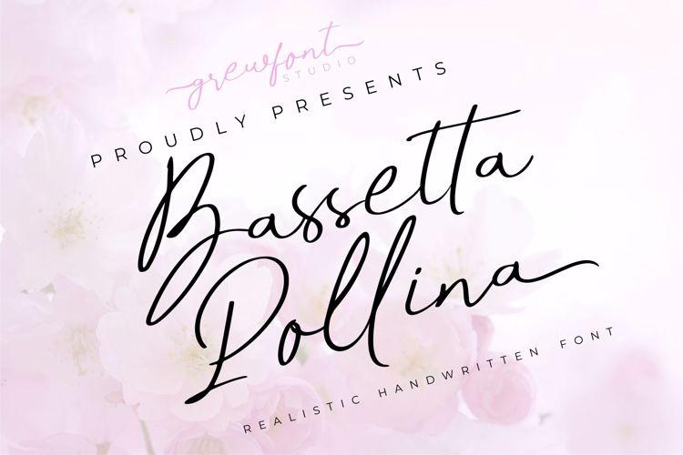 Bassetta Pollina Font