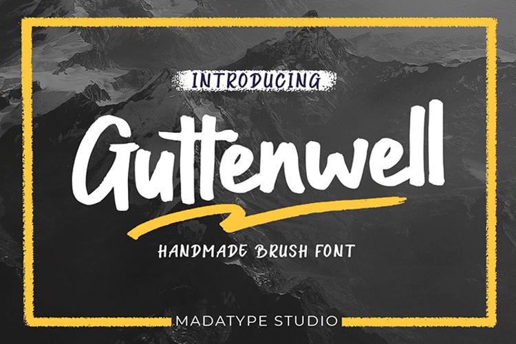 Guttenwell Font