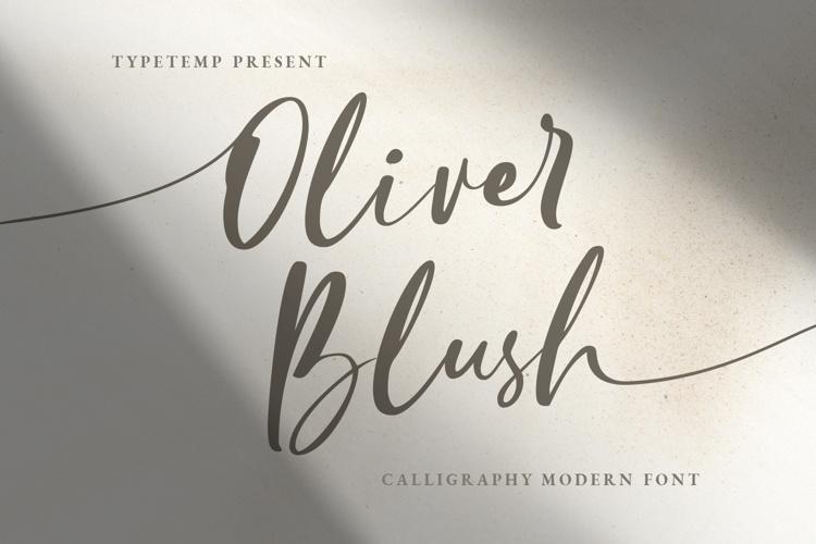 Oliver Blush Font