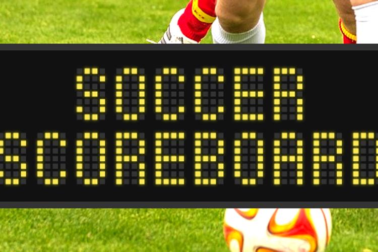Soccer Scoreboard Font