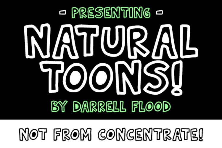 Natural Toons Font