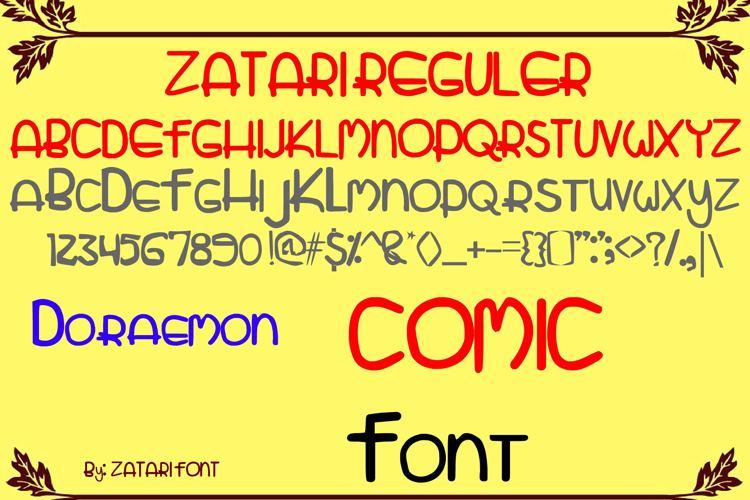 zatari Font