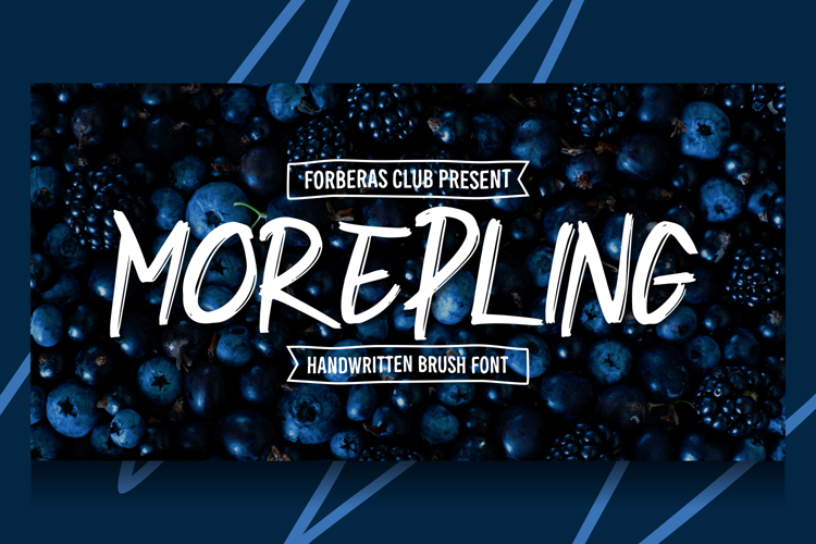 Morepling Font